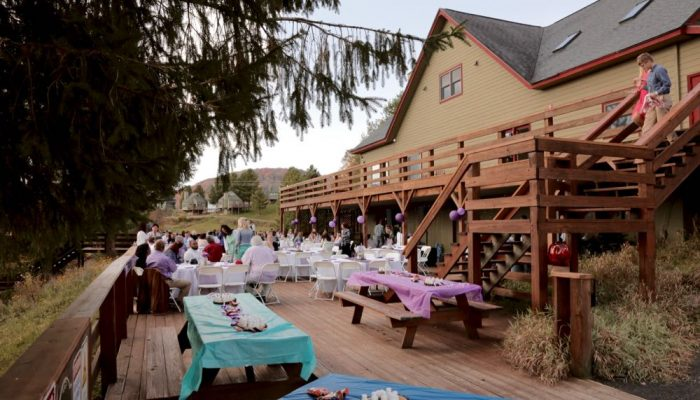 Black Bear Lodge Canaan Valley Wedding Venue